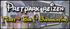 Pretpark reizen inclusief vervoer (en overnachting)